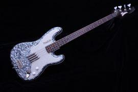 Italia Modulo Bass Guitar Silver