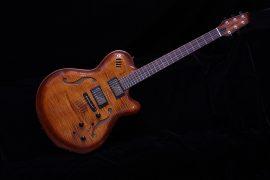Godin Flat Five X Semi Hollow Electric Guitar