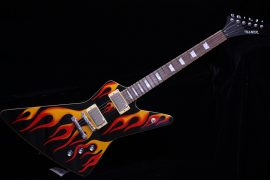 Hamer STD2FL Standard Flame Custom Electric Guitar