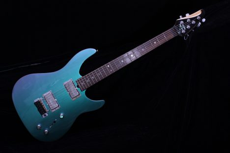 Brian Moore C90p Custom Shop Chameleon Electric Guitar